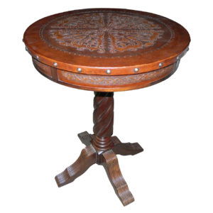Solomon Bar Table, Colonial, Antique Brown