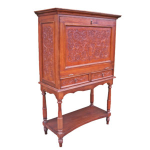 Spanish Bar, Colonial, Antique Brown