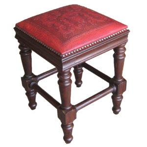 Susana Barstool, Colonial, Red