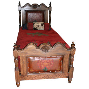 Kallie Twin Bed, French Heart