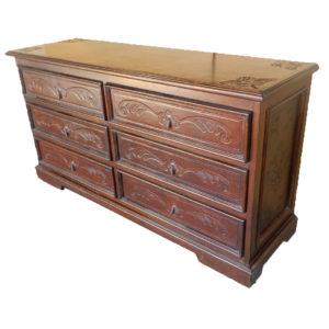 Large Dresser, Fleur De Lys