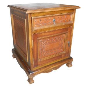 Spanish Heritage Nightstand, Classic, Rustic