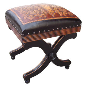 Barbara Stool, Colonial, Two-Tone
