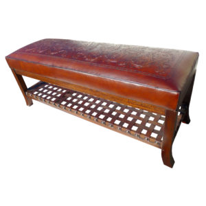 Super Bench, Colonial, Antique Brown