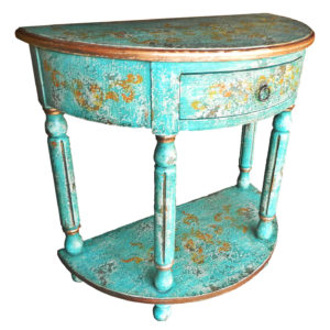 Ricardo Console, Painted Teal