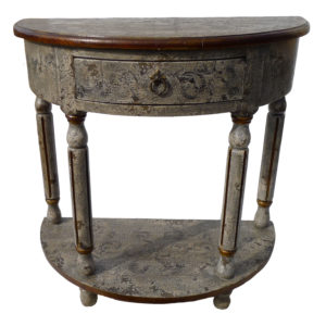 Ricardo Console, Painted, Grey