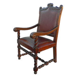 Diego Arm Chair, Classic, Antique Brown