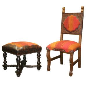 Inka Chair and Stool
