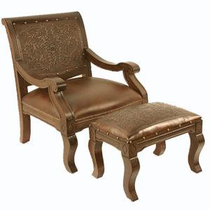 Salamanca Chair, with stool
