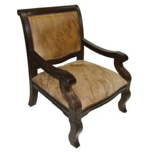 Salamanca Den Chair, Hair on Hide