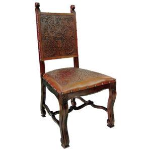 Lucia Chair, Colonial, Antique Brown