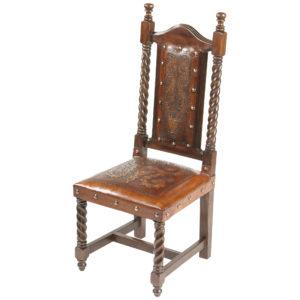 Solomon Chair, Colonial, Antique Brown