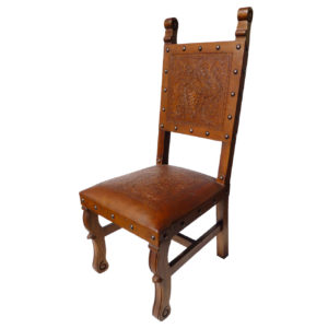Spanish Heritage Chair, Colonial, Rustic