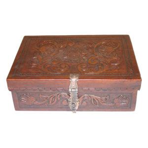 Small Box Flat Top, Garden, Antique Brown