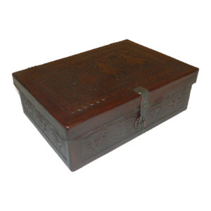Small Box Flat Top, Posse, Antique Brown