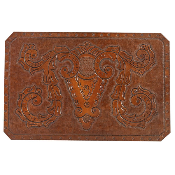 Colonial Hand Tooled Leather Pattern