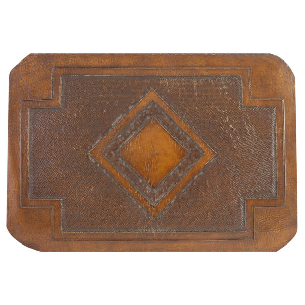 Diamond Hand Tooled Leather Pattern