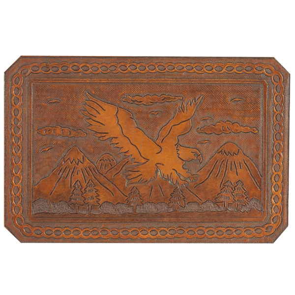 Eagle Hand Tooled Leather Pattern