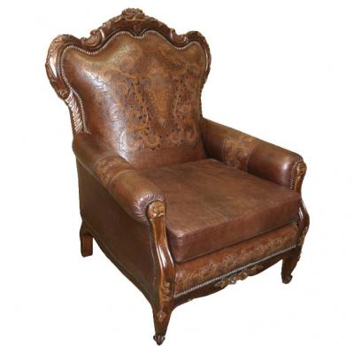 Teresa Chair, Colonial, Antique Brown