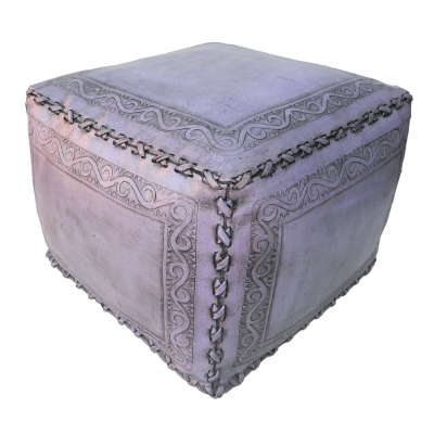 Large Ottoman, Classic, Lilac