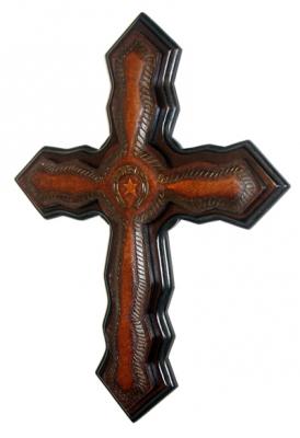 Leather Cross_C4
