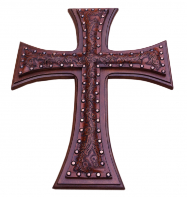 Leather Cross, C2, Antique Brown