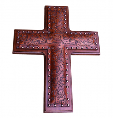 Leather Cross_C1 Antique Brown