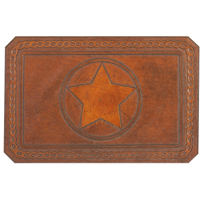 Texas Star Leather Pattern