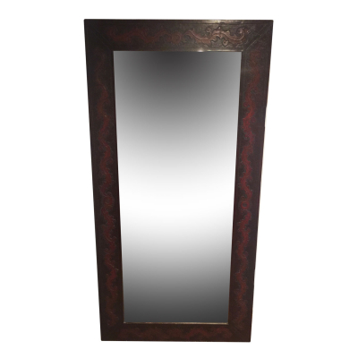 Dresser Mirror, Colonial, Antique Brown