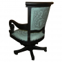 Swivel Office Chair, Colonial Turquoise_3