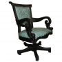 Swivel Office Chair, Colonial Turquoise_2
