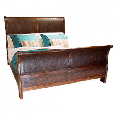 Isabella Bed, Colonial, Rustic