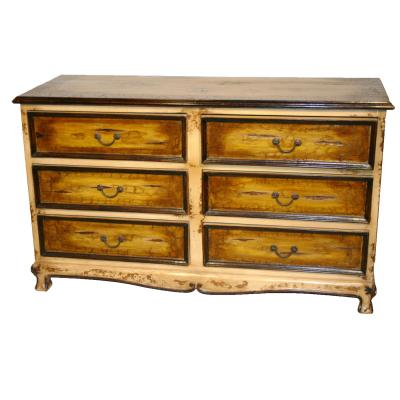 Spanish Dresser, Painted, Rustic