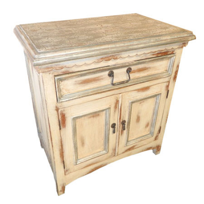 Santa Fe Nightstand, Painted White