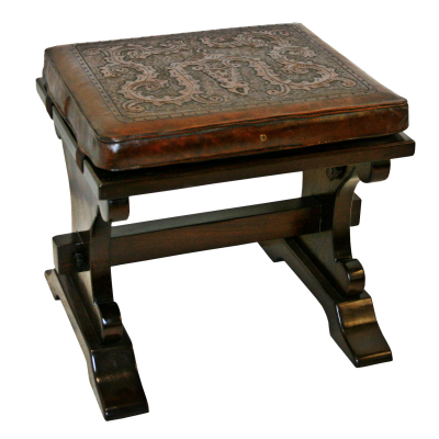 Parson Stool, Colonial, Antique Brown