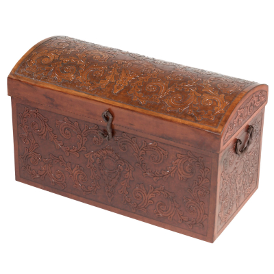 Jumbo Trunk RT, Colonial, Antique Brown