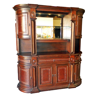 Elsa Hutch Buffet, Classic, Antique Brown