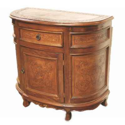 Half Moon Buffet, Colonial, Rustic
