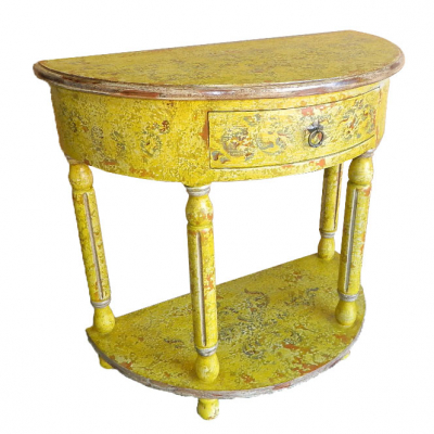 Ricardo Console, Painted Yellow