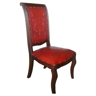 Imperial Chair, French Heart, Red