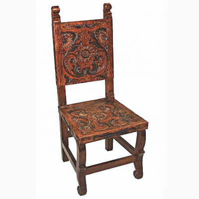 Spanish Heritage Chair, Painted
