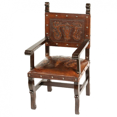 Spanish Heritage Arm Chair, Colonial