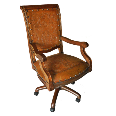 Imperial Office Chair, Colonial, Rustic