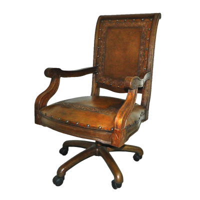 Imperial Office Chair, Classic, Rustic